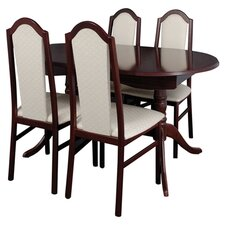 York 5 Piece Dining Set