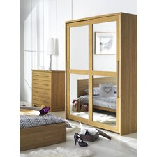 Melody 2 Door Mirrored Sliding Door Wardrobe