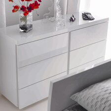Breeze 6 Drawer Wide Chest