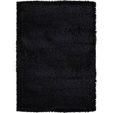 Treasure Black Solid Rug