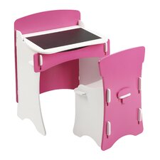 Blush Desk and Chair