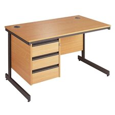Maestro 3 Drawer Computer Desk