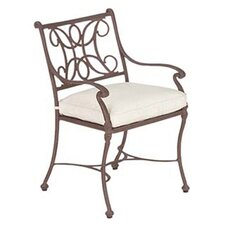 <strong>Woodard Landgrave</strong> Chateau Dining Arm Chair with Cushion