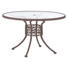 "<strong>Woodard Landgrave</strong> Chateau 48"" Round Umbrella Table"