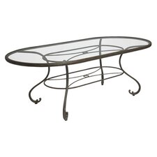 Old Gate Oval Umbrella Dining Table