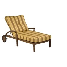 <strong>Woodard Landgrave</strong> Vienna Chaise Lounge with Cushion