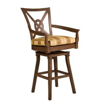 "Vienna Swivel 32.2"" Barstool with Cushion"