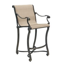"Villa Sling Small Stationary 32.2"" Barstool"