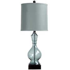 """31"""" H Table Lamp with Drum Shade"""