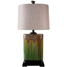"""31.5"""" H Table Lamp with Drum Shade"""