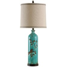 """35"""" H Table Lamp with Drum Shade"""