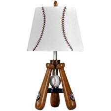 "Bat and Ball 24"" H Table Lamp with Empire Shade"