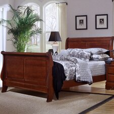 <strong>Vaughan-Bassett</strong> Barnburner Thirteen Sleigh Bed