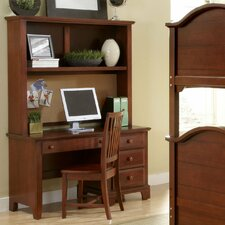 "Hamilton Franklin 52"" Computer Desk with Hutch"