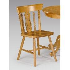 Durham Yorkshire Fiddleback Pine Dining Chair (Set of 2)