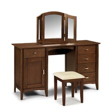 Marshall Twin Pedestal Dressing Table Set