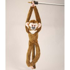 <strong>Wild Republic</strong> Hanging Squirrel Monkey Stuffed Animal
