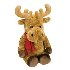 Winter Wonderland Moose Mom Stuffed Animal