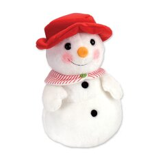 Winter Wonderland Snowman Mom Stuffed Animal