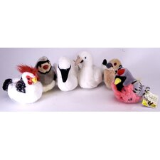 Winter Wonderland Twelve Days of Christmas Birds Stuffed Animals (Set of 6)