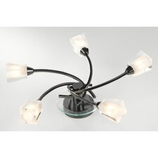 Austin 5 Light Semi Flush Light