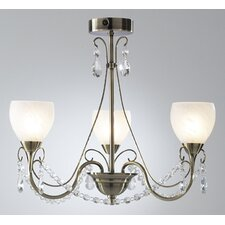 Folden 3 Light Chandelier