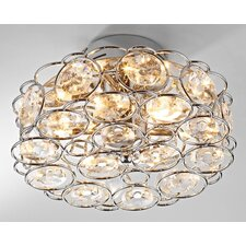 Geneva 6 Light Semi Flush Light