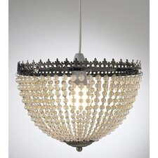 <strong>Dar Lighting</strong> Greta 1 Light Bowl Pendant
