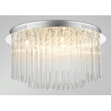 8 Light Semi Flush Light