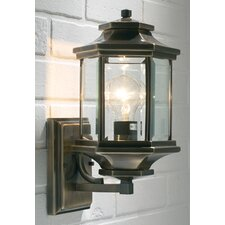 <strong>Dar Lighting</strong> Ladbroke 1 Light Semi-Flush Wall Light