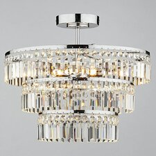 Rowena 5 Light Semi Flush Light
