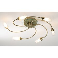 Tugel 6 Light Semi Flush Light