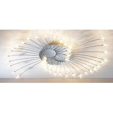 38 Light Semi Flush Light