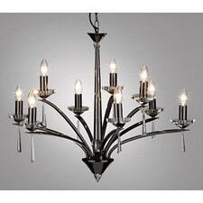 Hyperion 9 Light Chandelier