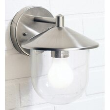 Poole 1 Light Semi-Flush Wall Light