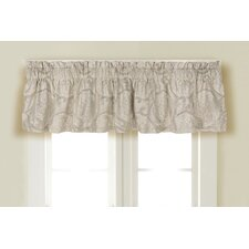 <strong>Rose Tree Linens</strong> Sheffield Cotton Blend Curtain Valance