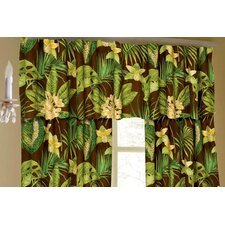 Rainforest Cotton Curtain Valance