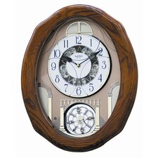 <strong>Rhythm U.S.A Inc</strong> Classic Glory Melody Wall Clock