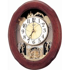 <strong>Rhythm U.S.A Inc</strong> Nostalgia Legend Melody Wall Clock