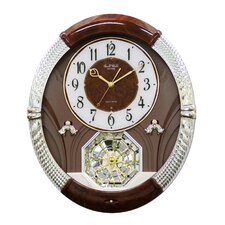 <strong>Rhythm U.S.A Inc</strong> Joyful Moment Melody Wall Clock