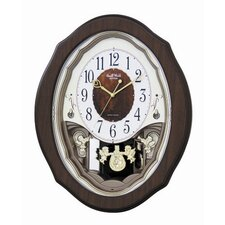 <strong>Rhythm U.S.A Inc</strong> Precious Angels Melody Wall Clock