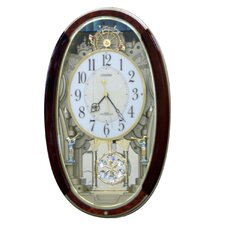 <strong>Rhythm U.S.A Inc</strong> Trumpet Boys Melody Wall Clock