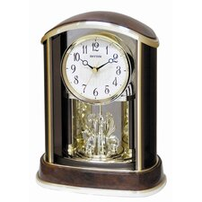 <strong>Rhythm U.S.A Inc</strong> Crystal Flare Melody Clock