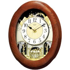 Nostalgia Oak Legend Melody Clock