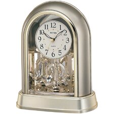 <strong>Rhythm U.S.A Inc</strong> Crystal Mantel Clock