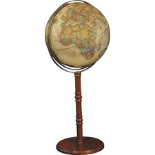 "Commander II 16"" Antique Floor/Desktop Globe"