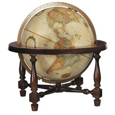 Colonial Antique World Globe