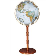"Edinburgh II 16"" Floor/Desktop World Globe"