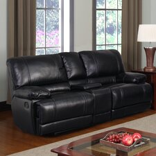 "Console 80"" Reclining Loveseat"