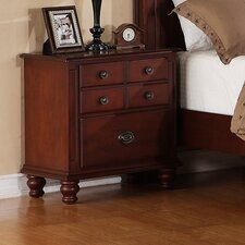 Laura 2 Drawer Nightstand